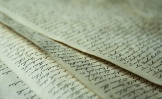 pages_écriture manuscrite